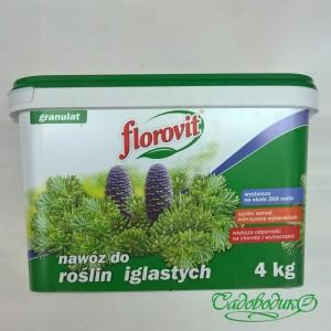 Флоровит для хвойных 4 кг