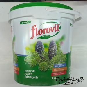Флоровит для хвойных 8 кг